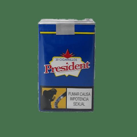 3. CIGARRILLOS PRESIDENT   PAQUETE X20 UNIDADES