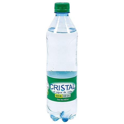 CRISTAL CON GAS 600ML