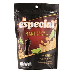 MANÍ LA ESPECIAL LIMÓN PIMIENTA  180gr