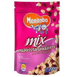 MANITOBA  MIX  MANÍ Y ARÁNDONOS 200gr
