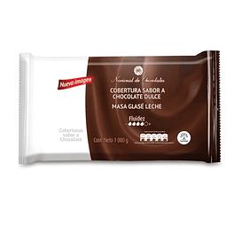 COBERTURA CHOCOLATE NEGRA NACIONAL DE CHOCOLATES 1000gr