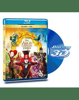 Blu Ray 3D Alicia a Través del Espejo