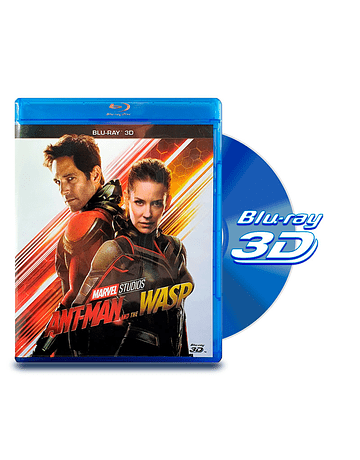 Blu Ray 3D Ant-Man and the Wasp