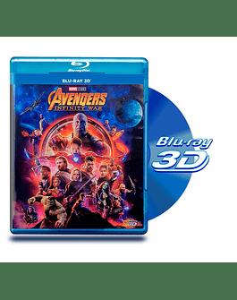 Blu Ray 3D Avengers Infinity War
