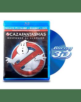 Blu Ray 3D Cazafantasmas