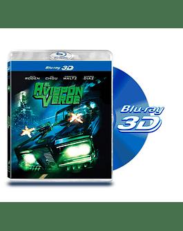 Blu Ray 3D El Avispon Verde