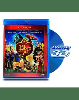 Blu Ray 3D El Libro de la Vida
