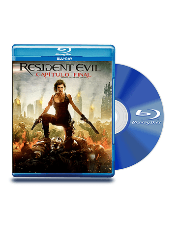 Blu Ray Resident Evil: Capitulo Final