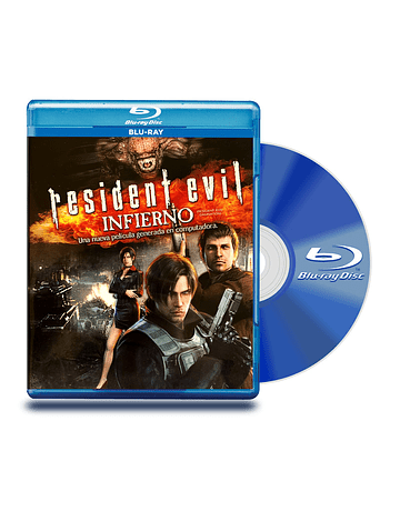 Blu Ray Resident Evil: Infierno