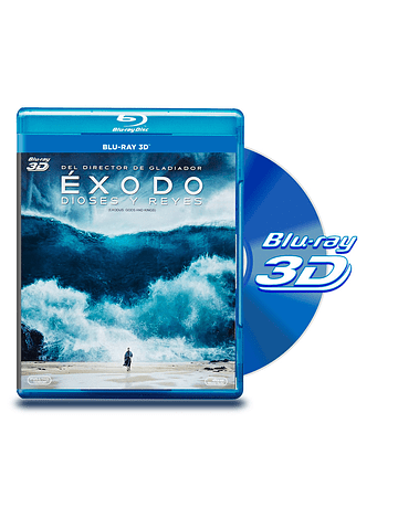 Blu Ray 3D Exodo: Dioses y Reyes