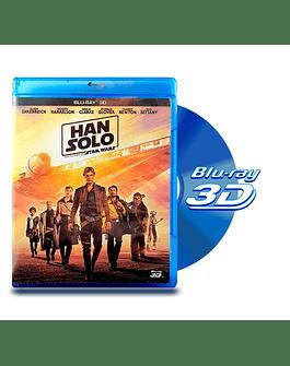 Blu Ray 3D Han Solo Una Historia de Star Wars