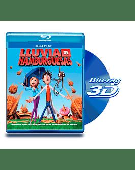 Blu Ray 3D Lluvia de Hamburguesas