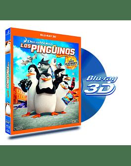 Blu Ray 3D Los Pingüinos de Madagascar