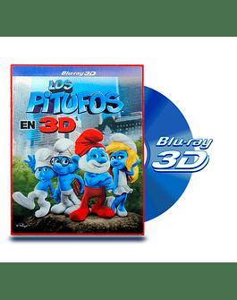 Blu Ray 3D Los Pitufos