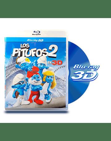 Blu Ray 3D Los Pitufos 2
