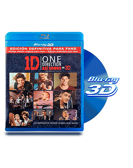 Blu Ray 3D One Direction Asi Somos