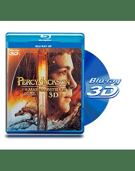 Blu Ray 3D Percy Jackson y el Mar de los Monstruos