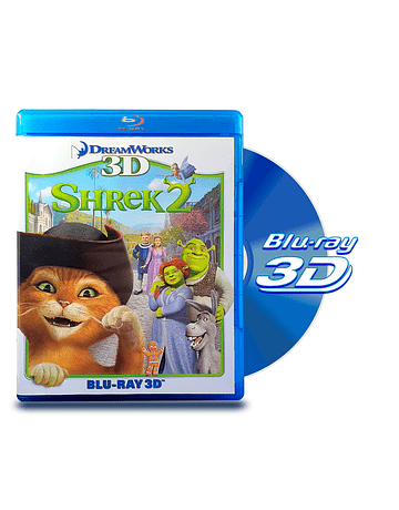 Blu Ray 3D Shrek 2