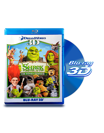 Blu Ray 3D Shrek Forever After
