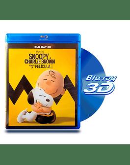Blu Ray 3D Snoopy y Charlie Brown La Película