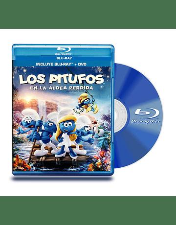 Blu Ray Los Pitufos En La Aldea Perdida