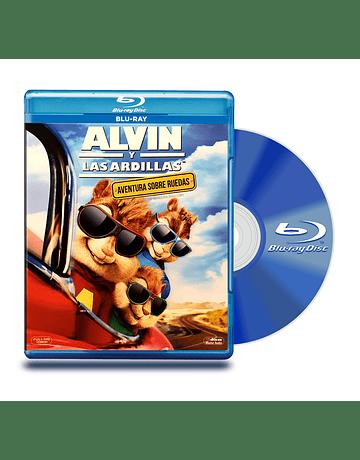 Blu Ray Alvin y Las Ardillas : Aventura BD+DVD