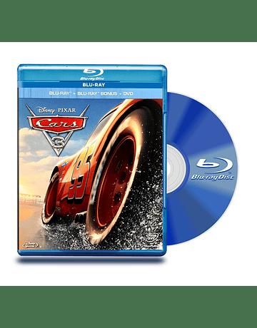Blu Ray Cars 3 BD BD+DVD
