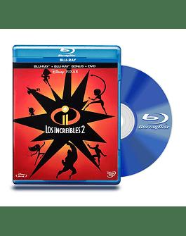Blu Ray Los Increibles 2 BD BD+DVD