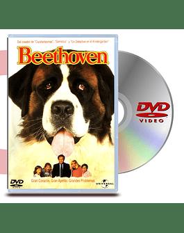 DVD Beethoven 1, uno más de la familia