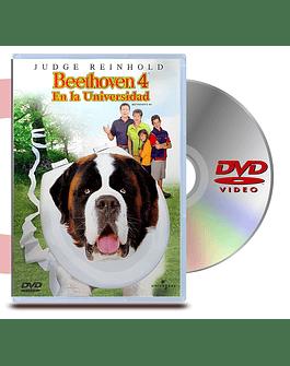 DVD Beethoven 4: En La Universidad