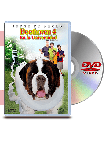 DVD Beethoven 4: En La Universidad