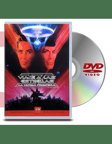 DVD Star Trek 5 La última frontera - Viaje a las Estrellas 5