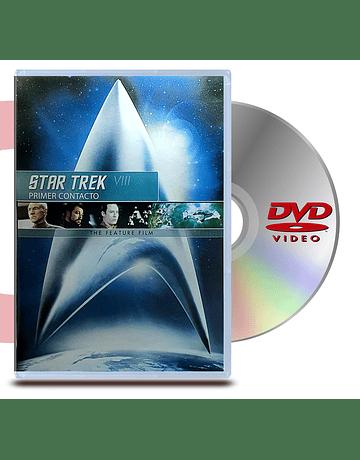 DVD Star Trek 8 Primer contacto - Viaje a las Estrellas 8