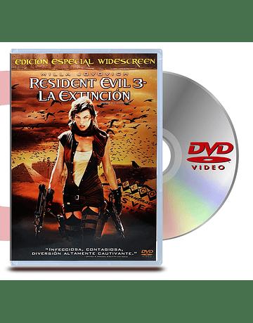 DVD Resident Evil 3 La Extinción