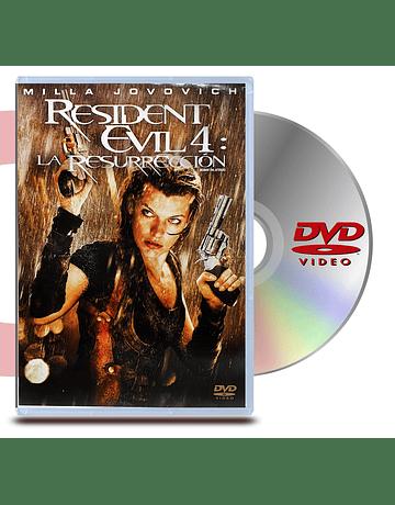 DVD Resident Evil 4 La Resurrección