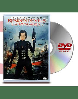 DVD Resident Evil 5 La Venganza