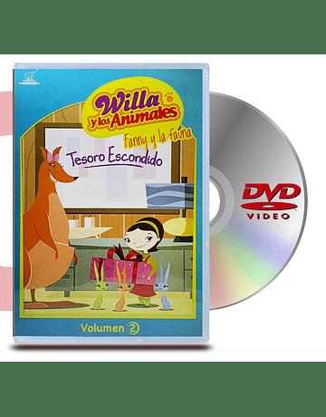 PACK DVD Willa y Los Animales
