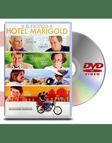DVD El Exótico Hotel Marigold