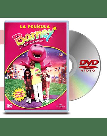 DVD Barney La Gran Aventura