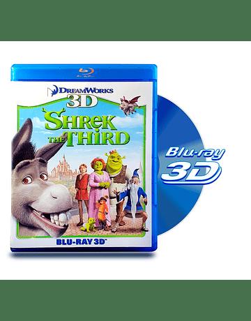 Blu Ray 3D Shrek Tercero