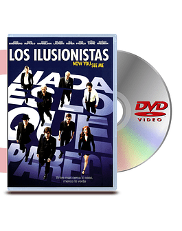 DVD Los Ilusionistas