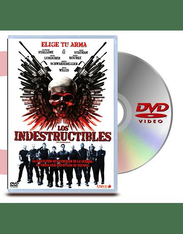 DVD Los Indestructibles
