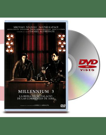 DVD Millennium 3: La Reina en el Palacio