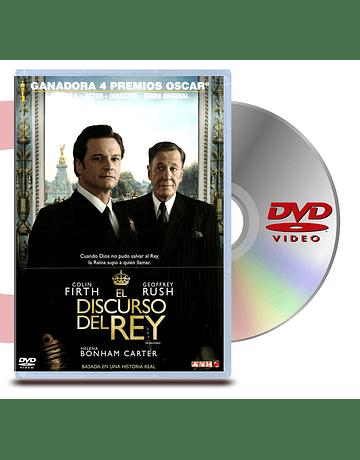 DVD El Discurso del Rey