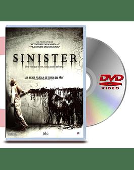 DVD Siniestro