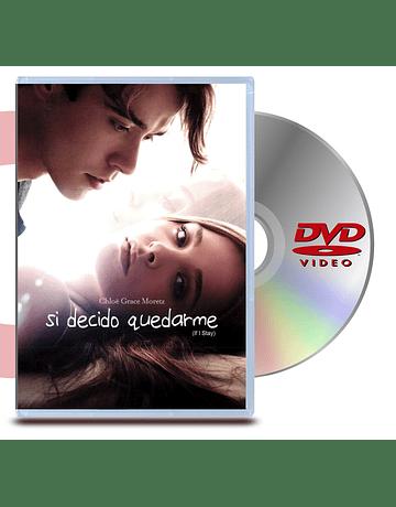DVD Si Decido Quedarme