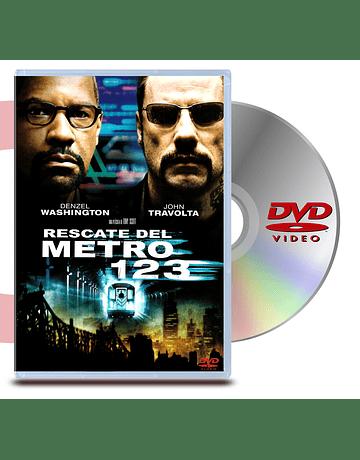 DVD Rescate en el Metro 123