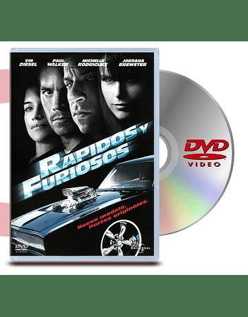 DVD Rápidos y Furiosos 4
