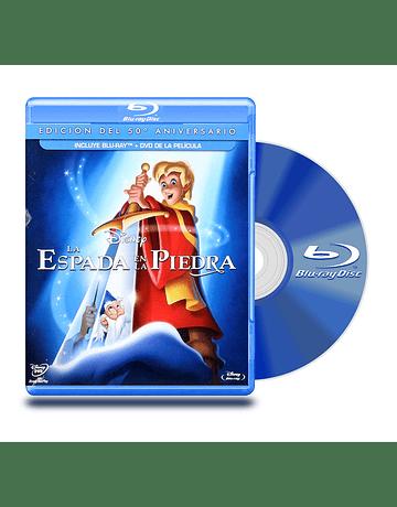 Blu Ray La Espada En La Piedra BD+DVD
