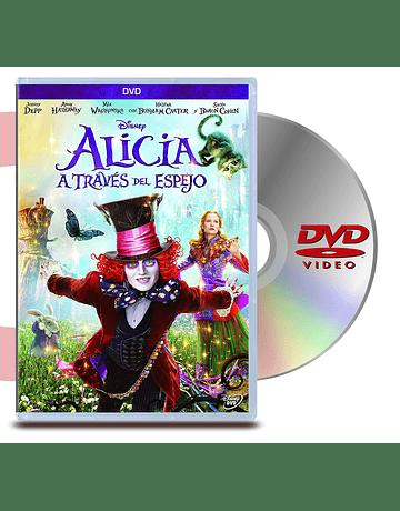 DVD Alicia A Traves Del Espejo